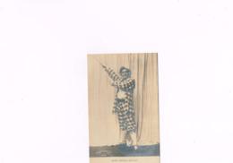 Henry Krauss Dans Paillasse Vanderauwera & Cie Bruxelles Paris Dupont,carte Postale Ancienne 1890-1910,artiste,acteur, - Artistes