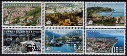 Turkey - 2019 - Cittaslow Cities In Turkey, Part II - Mint Definitive Stamp Set - 1921-... Republic