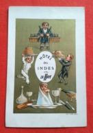 Menu 1885 -Hôtel Des Indes-La Haye - Menus