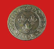 Double Tournois - Henri IIII - 1604  A - TB + - Cuivre - - 987-1789 Monnaies Royales