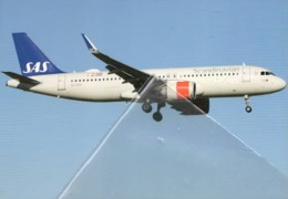 SAS Scandinavia Airlines Airbus A320NEO SE-ROA A.320 Airplane Airplane A-320 Aero At Lisbona - 1946-....: Era Moderna