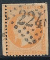 N°23 VARIETE. - 1862 Napoléon III