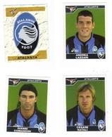 Calciatori Panini 2004-2005 - Atalanta 4 Figurine - Panini