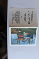 Petit Calendier 199O Offert Par  L ESPACE VERT CHAUSSIN 39 - Calendriers