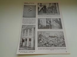 """Origineel Knipsel ( 1952 ) Uit Tijdschrift """" Ons Volk """"  1932  :  Gentiel Antheunis  Oudenaarde  Audenarde - Vecchi Documenti"""