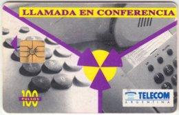 ARGENTINIA A-142 Chip Telecom - Used - Argentina