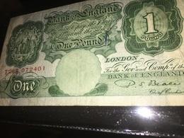 See Photos. UK/Bank Of England:- 1 Pound Circulated. - 1 Pound