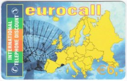 AUSTRIA G-218 Prepaid ITD - Map, Europe - Used - Austria