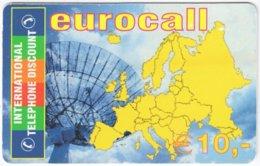 AUSTRIA G-219 Prepaid ITD - Map, Europe - Used - Austria