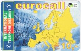 AUSTRIA G-221 Prepaid ITD - Map, Europe - MINT - Austria