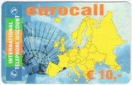 AUSTRIA G-222 Prepaid ITD - Map, Europe - Used - Austria