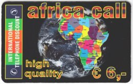 AUSTRIA G-223 Prepaid ITD - Map, Africa - Used - Austria
