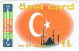 AUSTRIA G-228 Prepaid ITD - Symbols Of Turkey - MINT - Austria