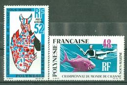 POLYNESIE - P A  N° 29** MNH Et N° 30** MNH LUXE FRAICHEUR POSTALE - Unused Stamps