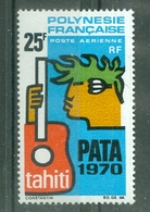 POLYNESIE - P A  N° 28** MNH LUXE FRAICHEUR POSTALE - Unused Stamps
