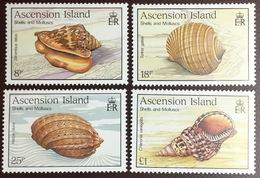 Ascension 1989 Sea Shells MNH - Conchas