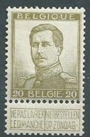 Belgique N° 119  **   -  Aab 26305 - 1912 Pellens