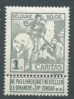 Belgique N°  84 **    -  Aab 26312 - 1910-1911 Caritas