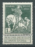 Belgique N°  88 **    -  Aab 26313 - 1910-1911 Caritas