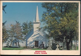 °°° 20099 - CANADA - BRANTFORD - MOHAWK CHAPEL - 1995 With Stamps °°° - Other