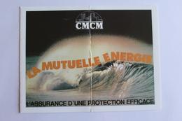Petit Calendier 1989 Offert Par   CMCM LA MUTUELLE ENERGIE - Calendriers