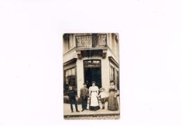 Chez Julien Faucon Café? Commerce?magasin? Carte Postale Ancienne  1910-1930. - Commerce