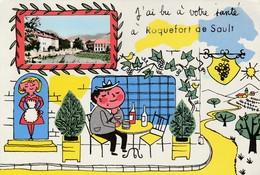 J'ai Bu à Votre Santé à Roquefort De Sault - France