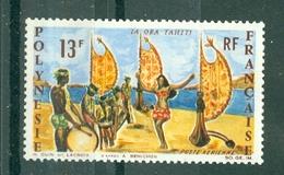 POLYNESIE - P A  N° 21** LUXE FRAICHEUR POSTALE - Unused Stamps