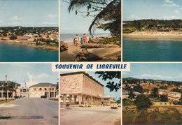 SOUVENIR DELIBREVILLE CPSM 15X10.5 MULTIVUE Bon état Voir Scans - Gabon