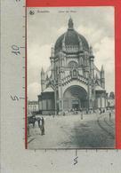 CARTOLINA VG BELGIO - BRUXELLES - Eglise Ste Marie - Ed. Nels - 9 X 14 - 1910 - Monumenti, Edifici