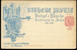 AZORES Postal Card #26 VASCO DA GAMA Window Of Convento De Christo Tomar 1898 - Azores