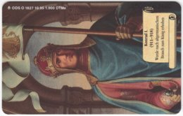 GERMANY O-Serie B-750 - 1827 10.95 - History, Emperor, Kings And Other Leaders - MINT - Deutschland