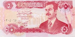 IRAQ 5 DINARS 1992 P-80  UNC - Iraq