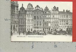 CARTOLINA VG BELGIO - BRUXELLES - Maisons Des Corporations - 9 X 14 - 1908 - Monumenti, Edifici