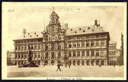 ANTWERPEN - ANVERS - Stadhuis - Hôtel De Ville - Circulé - Circulat. - Gelaufen -1927. - Antwerpen
