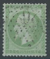 Lot N°54413   Variété/Possible N°35, Oblit étoile Chiffrée 20 De PARIS (R.St-Domque-St-Gn, 56), Filet NORD Absent - 1862 Napoléon III