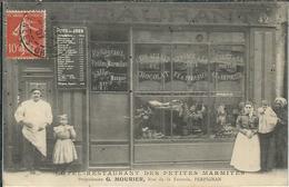 "PYRENEES ORIENTALES : Perpignan, Restaurant Des ""Petites Marmites"", Prop. G. Mourier, Rue De La Fusterie, RARE... - Perpignan"