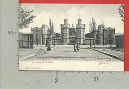 CARTOLINA VG BELGIO - BRUXELLES - La Prison De St. Gilles - 9 X 14 - 190? - Monumenti, Edifici