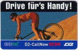 GERMANY Prepaid A-245 - D2-Debitel - Sport, Biking - Used - Germany