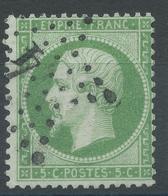 Lot N°54414   N°20, Oblit étoile Chiffrée 4 De PARIS (R. D'Enghien) - 1862 Napoléon III