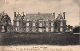 CPA : DAUBEUF - SERVILLE : Château Du Grand Daubeuf - Côté Du Grand Bassin - Otros Municipios