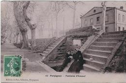 PYRENEES ORIENTALES : Perpignan, Fontaine D'Amour - Perpignan