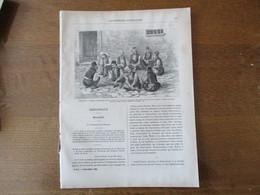 LES MISSIONS CATHOLIQUES DU 3 DECEMBRE 1886 MALAISIE,MACEDOINE TRIBUNAL DE SALONIQUE,SEMINAIRE,CRECHE,Mgr GASNIER - Riviste - Ante 1900