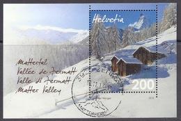 Switzerland / Svizzera / Schweiz 2013 - Mattertal, Zermatt, Matter Valley, Matterhorn Winter Montagne Mointains Used M/S - Gebraucht