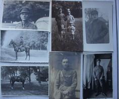 Photo X7 ABL Officiers Sous-officiers Armée Belge Belgische Leger Miltaria Entre 1914 Et 1945 - Guerre, Militaire
