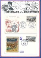 FRANCE- ENVELOPPES DEBARQUEMENT FRANCAIS EN PROVENCE 23.08.69 SAINT RAPHAEL - Guerre Mondiale (Seconde)