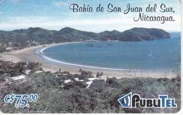 TARJETA DE NICARAGUA DE PUBLITEL DE LA BAHIA DE SAN JUAN DEL SUR - Nicaragua
