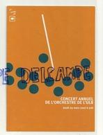 Publicité Pour Le Concert Annuel De L'Orchestre De L'ULB. 2007 - Musica E Musicisti