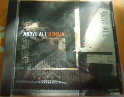 CD  HARDCORE - ABOVE ALL / DOMAIN - Hard Rock & Metal