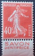 R1513/220 - 1924/1926 - TYPE SEMEUSE FOND PLEIN - N°194 NEUF** BdF Publicitaire - 1906-38 Sower - Cameo